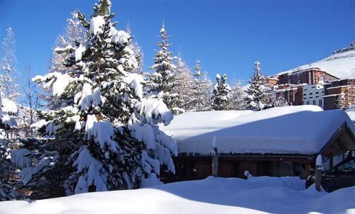 Ski en avril Chalet Les Jonquilles