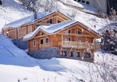 Ski en famille Chalet Leslie Alpen
