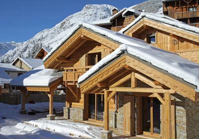 Ski en décembre Chalet Prestige Lodge