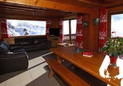 Location au ski Chalet 7 pièces 12 personnes - Chalet Soleil Levant - Les 2 Alpes - Table