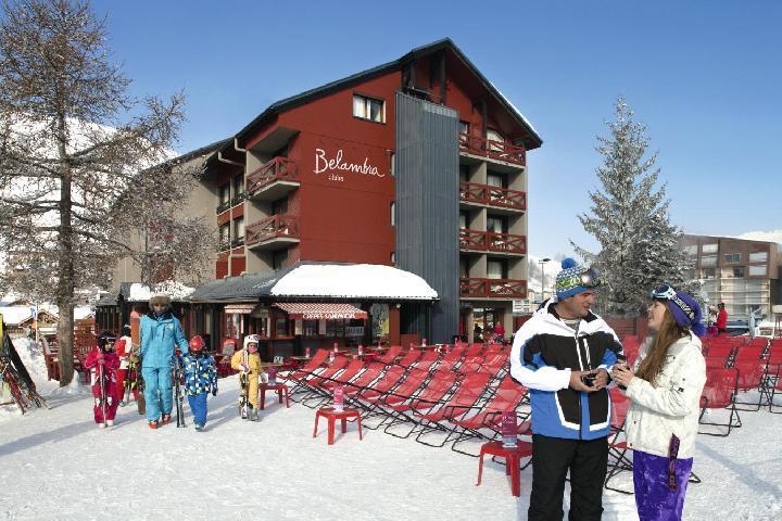 Ski en janvier Hotel Belambra Club L'oree Des Pistes