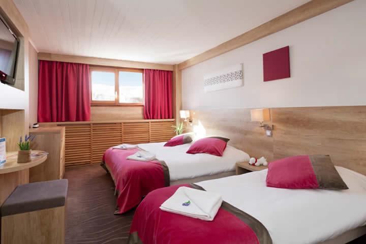 Location au ski Hotel Club Mmv Le Panorama - Les 2 Alpes - Chambre