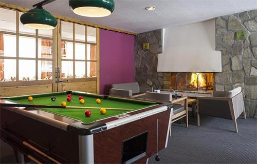 Location au ski Hotel Club Mmv Le Panorama - Les 2 Alpes - Billard