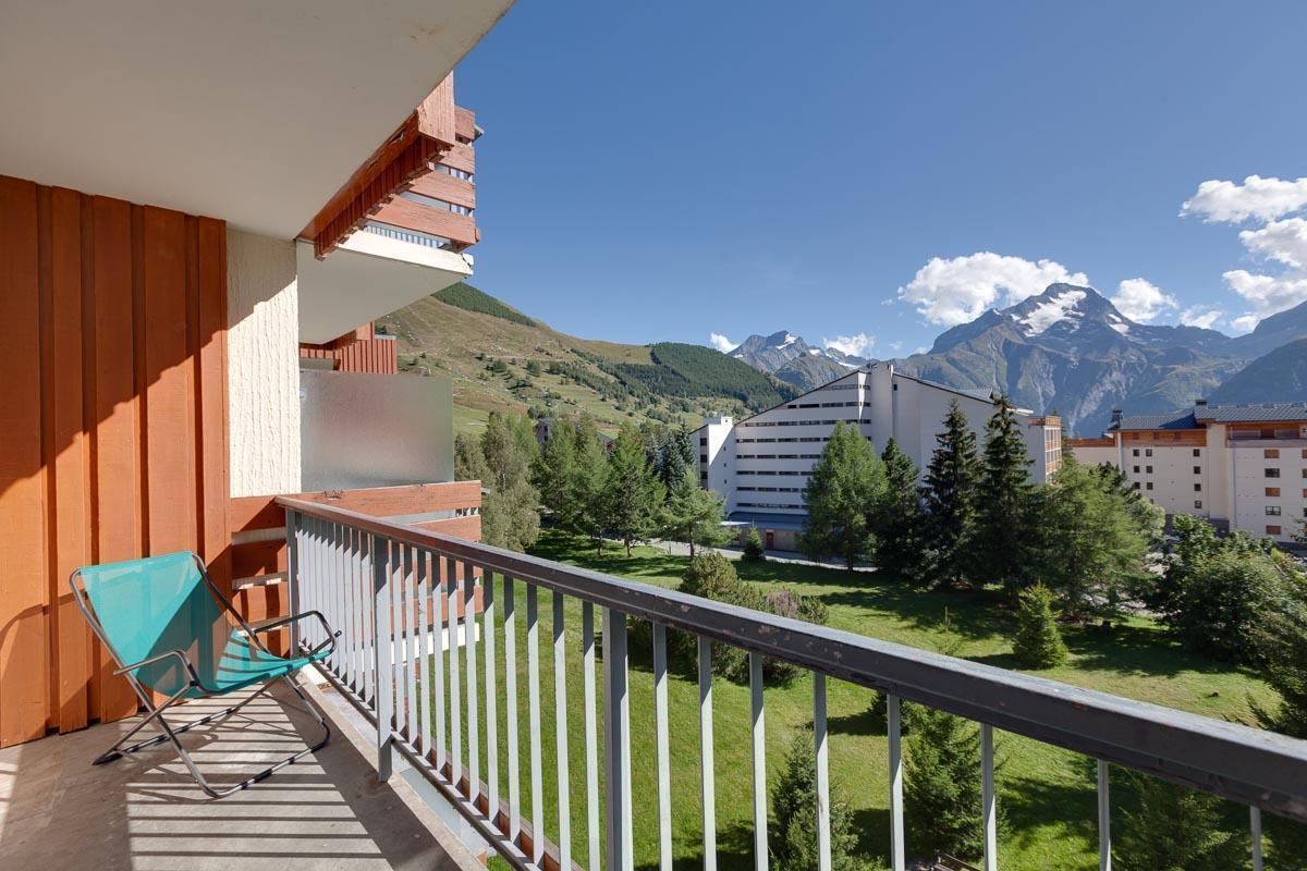 Location au ski Appartement 1 pièces 4 personnes - Residence Cote Brune 4 - Les 2 Alpes