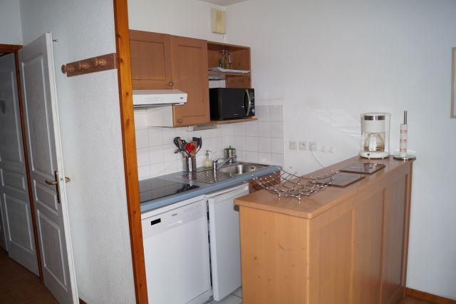 Location au ski Appartement 3 pièces 6 personnes (21) - Residence Flocon D'or - Les 2 Alpes - Salle à manger