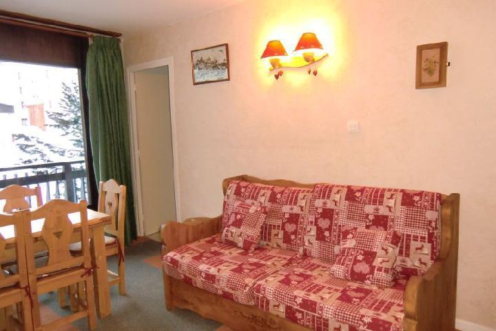Location au ski Appartement 2 pièces 6 personnes (48) - Residence L'olympe - Les 2 Alpes - Banquette-lit