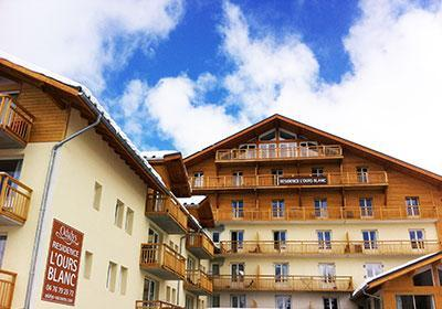 Location au ski Residence L'ours Blanc - Les 2 Alpes