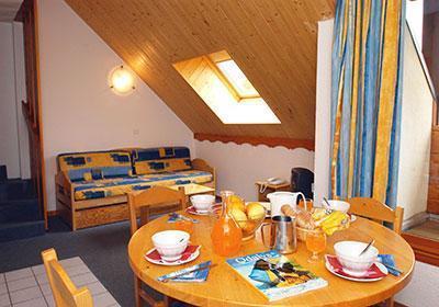Location au ski Residence Le Flocon D'or - Les 2 Alpes - Velux