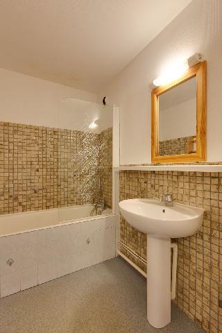 Location au ski Appartement 2 pièces 6 personnes (042) - Residence Meijotel Dizaines - Les 2 Alpes - Baignoire