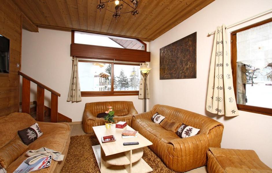 Location au ski Chalet Alpina - Les 2 Alpes - Canapé