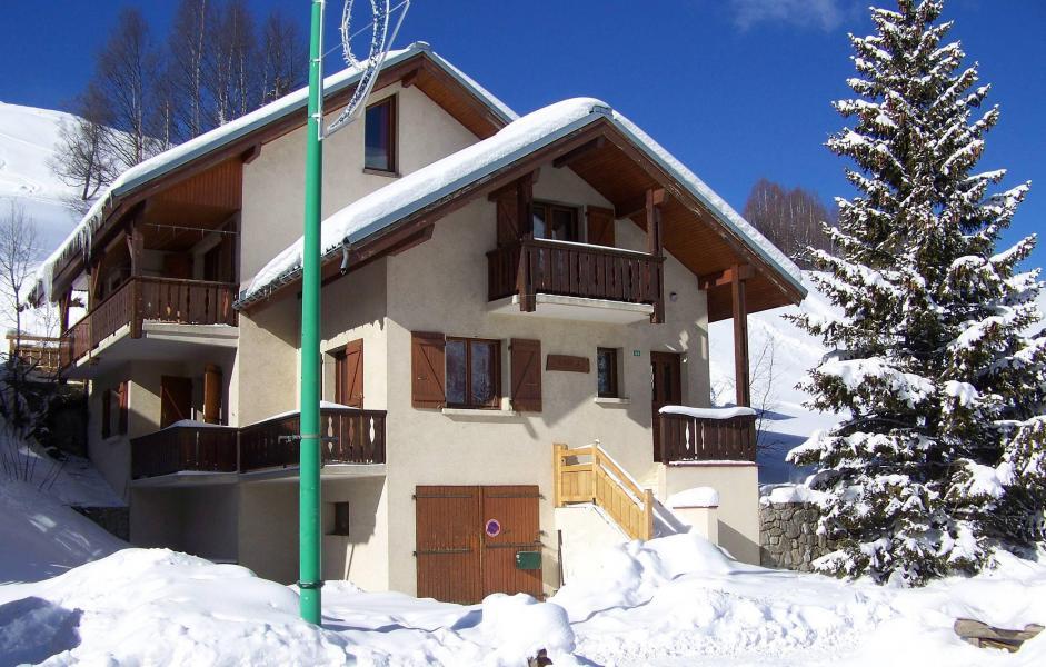 Wynajem na narty Chalet Erika - Les 2 Alpes - Zima na zewnątrz