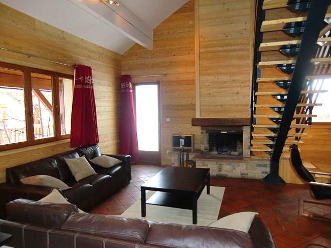 Location au ski Chalet Erika - Les 2 Alpes - Séjour