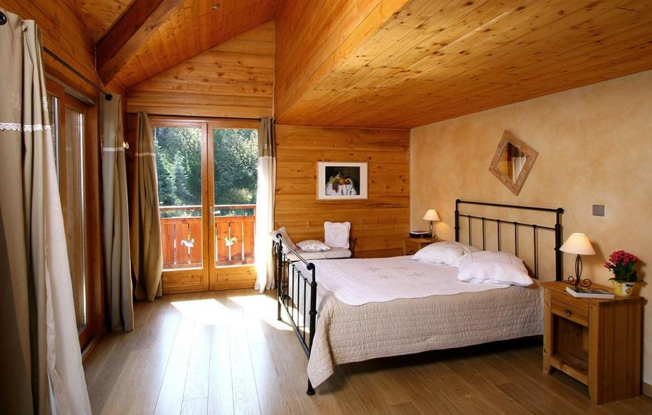 Rent in ski resort Chalet Harmonie - Les 2 Alpes - Double bed