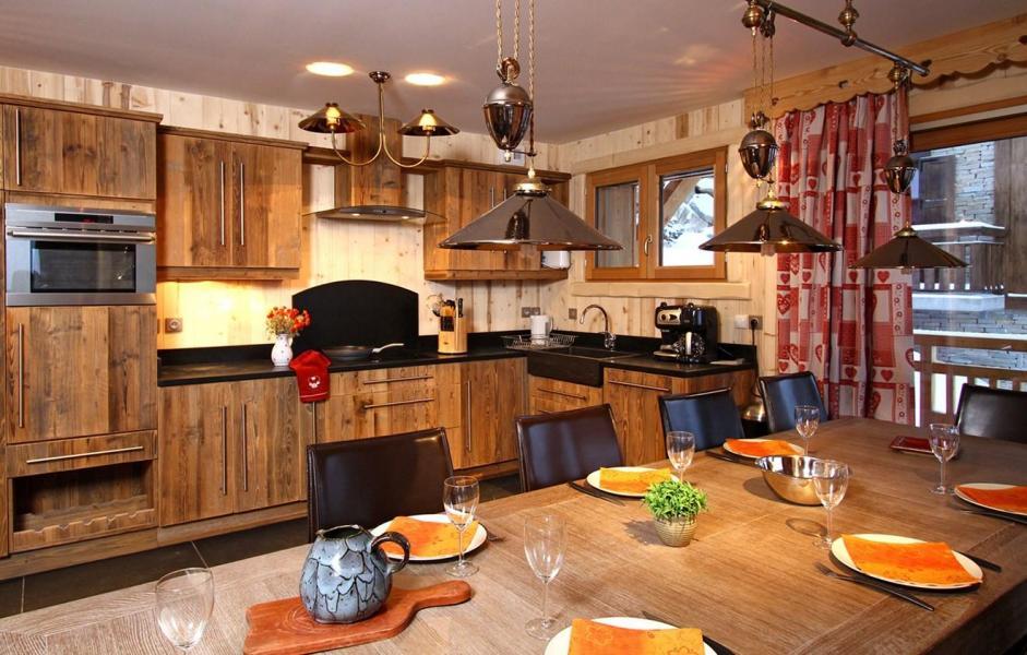Location au ski Chalet Husky - Les 2 Alpes - Cuisine ouverte
