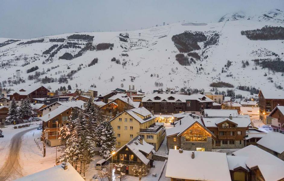 Аренда на лыжном курорте Chalet L'Atelier - Les 2 Alpes - зимой под открытым небом