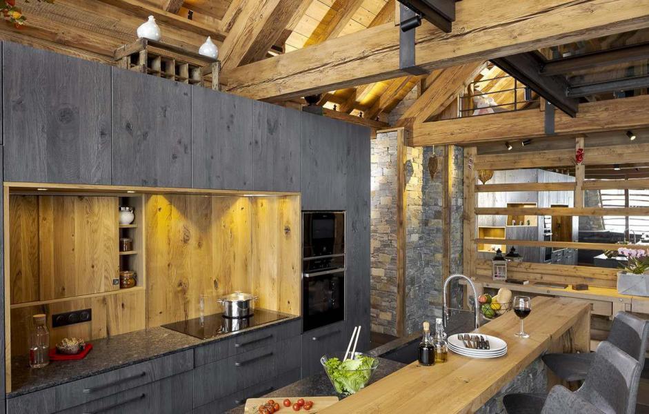 Аренда на лыжном курорте Chalet L'Atelier - Les 2 Alpes - Кухня