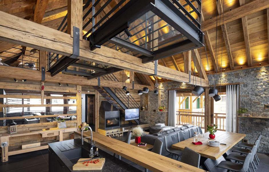 Аренда на лыжном курорте Chalet L'Atelier - Les 2 Alpes - Салон