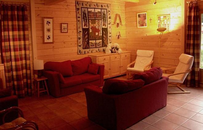 Location au ski Chalet la Lauze - Les 2 Alpes - Canapé