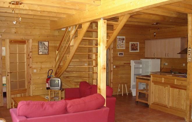 Location au ski Chalet la Lauze - Les 2 Alpes - Séjour
