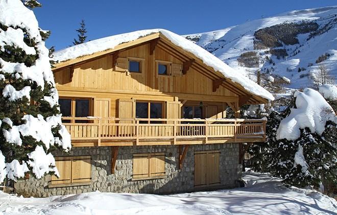 Location au ski Chalet la Muzelle - Les 2 Alpes - Extérieur hiver
