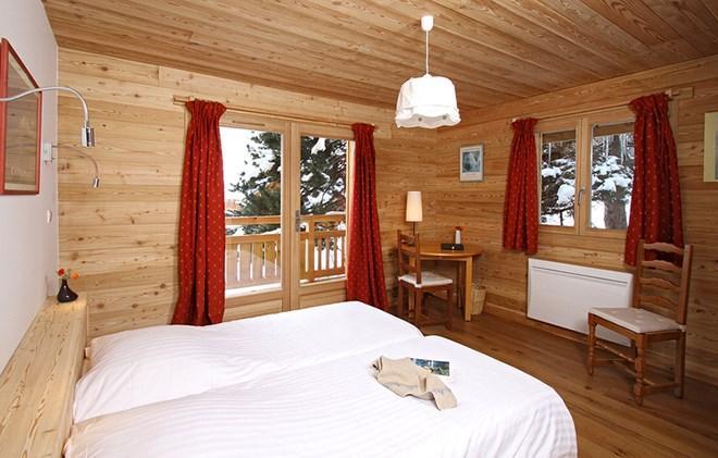 Location au ski Chalet La Muzelle - Les 2 Alpes - Chambre