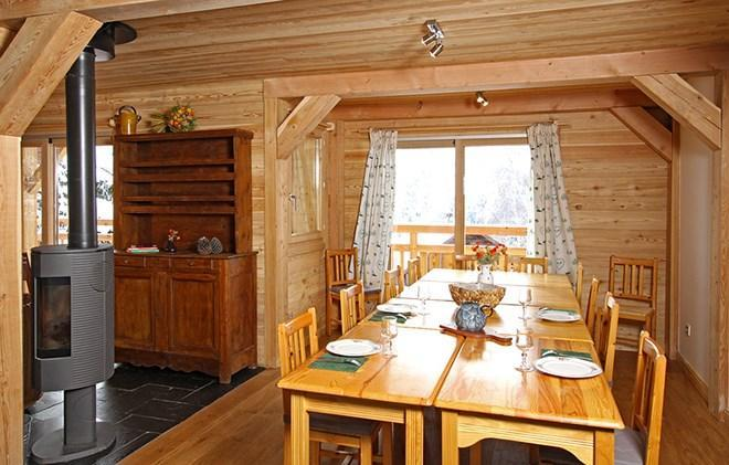 Location au ski Chalet la Muzelle - Les 2 Alpes - Table