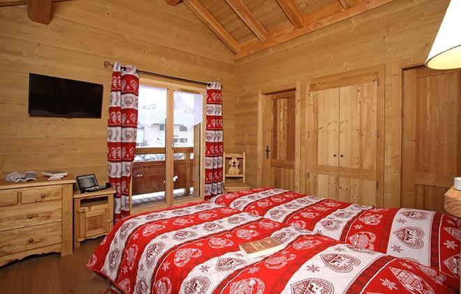 Location au ski Chalet Le Loup Lodge - Les 2 Alpes - Chambre