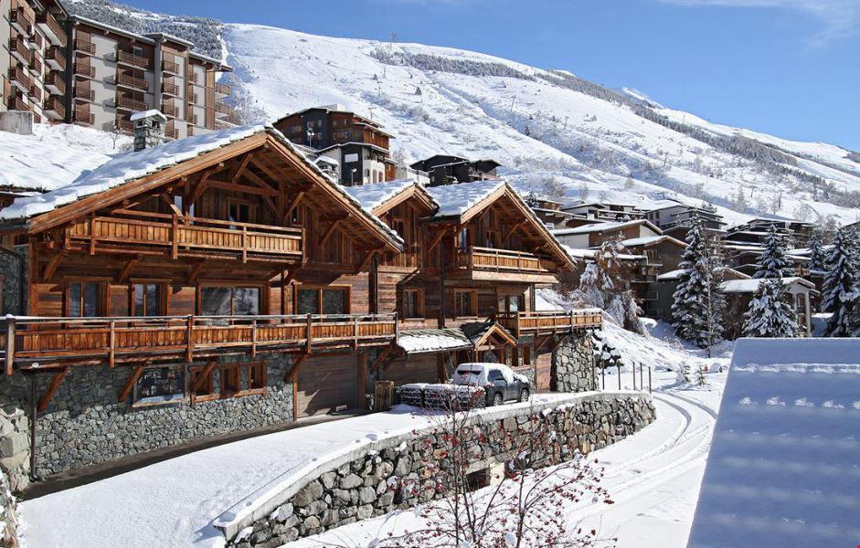 Vacaciones en montaña Chalet le Lys - Les 2 Alpes - Invierno