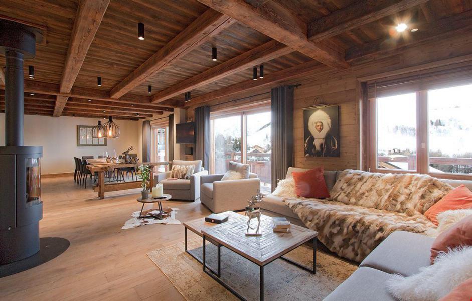 Location au ski Chalet le Lys - Les 2 Alpes - Banquette