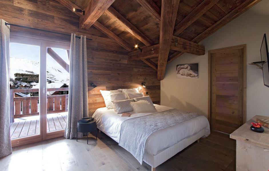 Location au ski Chalet le Lys - Les 2 Alpes - Chambre mansardée