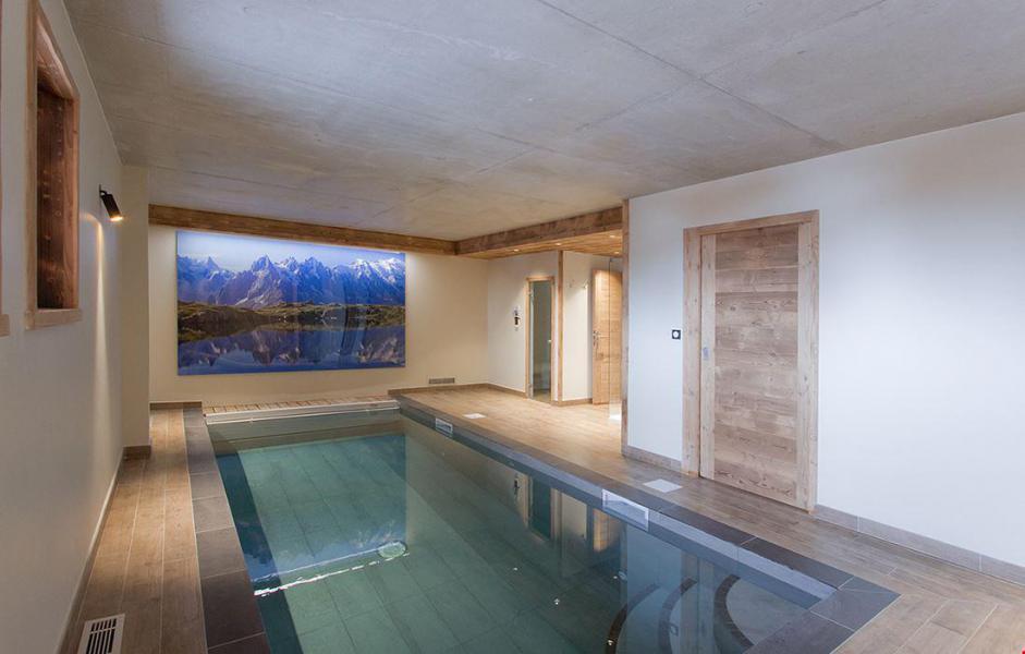 Location au ski Chalet le Lys - Les 2 Alpes - Piscine
