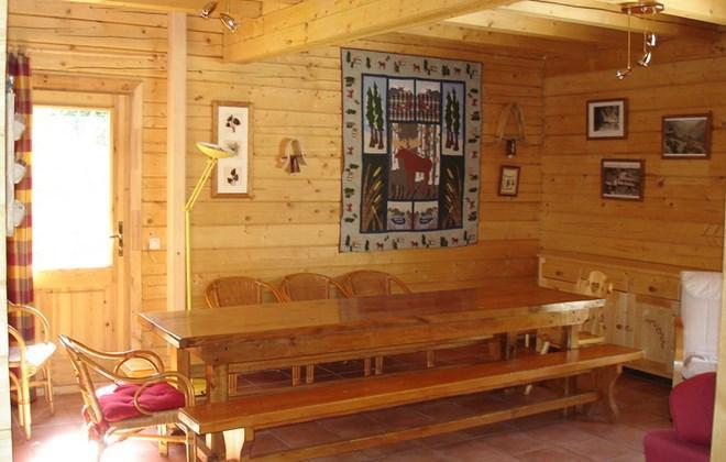 Location au ski Chalet le Pleynet - Les 2 Alpes - Coin repas