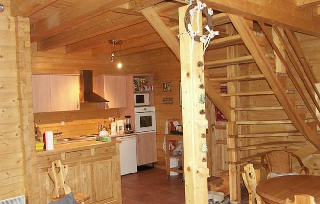 Location au ski Chalet le Pleynet - Les 2 Alpes - Cuisine
