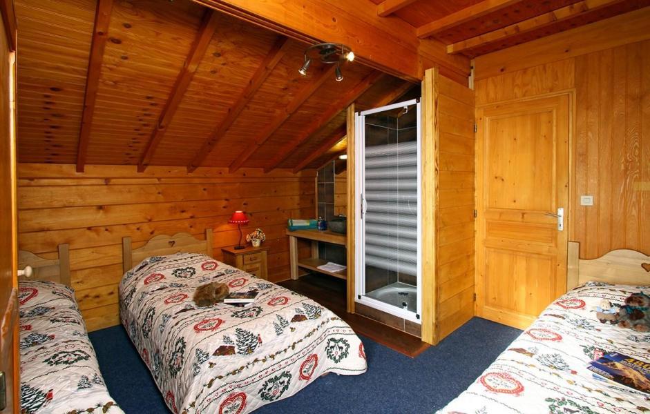 Аренда на лыжном курорте Chalet le Ponton - Les 2 Alpes - Односпальная кровать