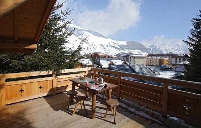 Location au ski Chalet les Alpages - Les 2 Alpes - Extérieur hiver