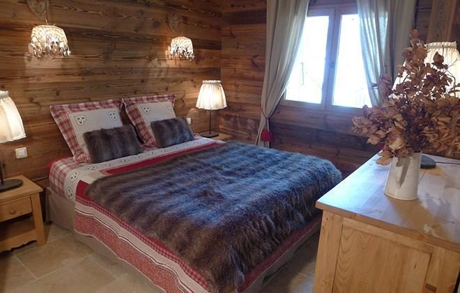 Location au ski Chalet les Alpages - Les 2 Alpes - Lit double