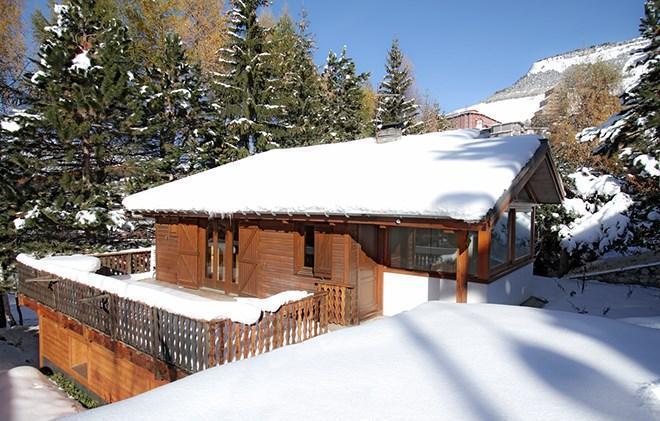 Location au ski Chalet les Jonquilles - Les 2 Alpes - Extérieur hiver