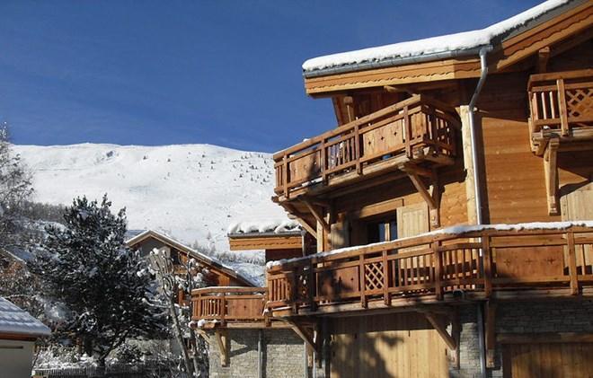 Vacances en montagne Chalet Levanna Occidentale - Les 2 Alpes - Extérieur hiver