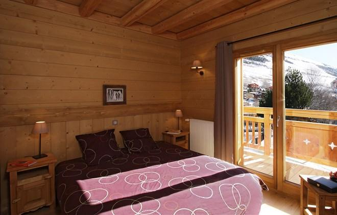 Location au ski Chalet Levanna Occidentale - Les 2 Alpes - Chambre