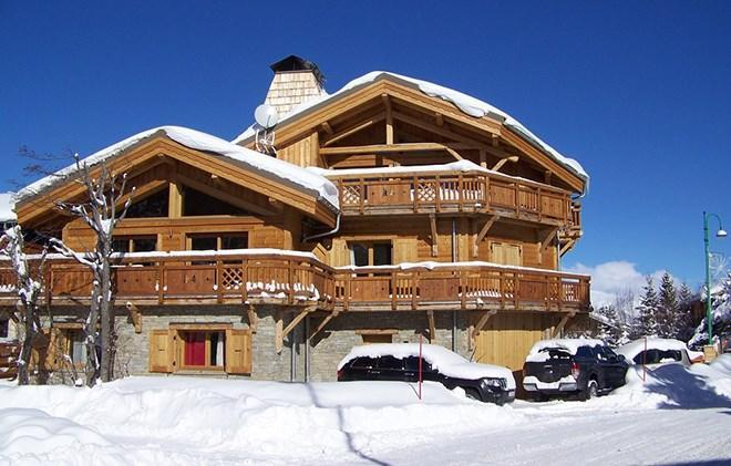 Holiday in mountain resort Chalet Levanna Orientale - Les 2 Alpes - Winter outside