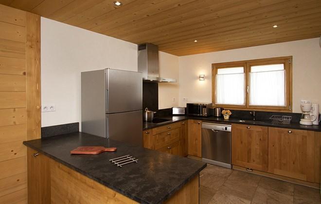 Soggiorno sugli sci Chalet Levanna Orientale - Les 2 Alpes - Cucina aperta