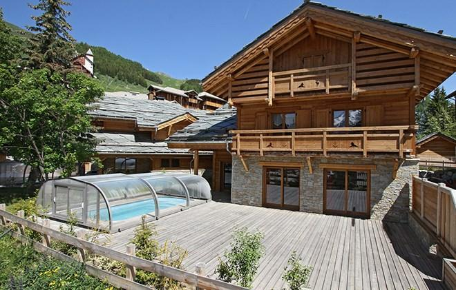 Location chalet 6 pi ces 14 personnes aux 2 alpes ski planet for Piscine 2 alpes