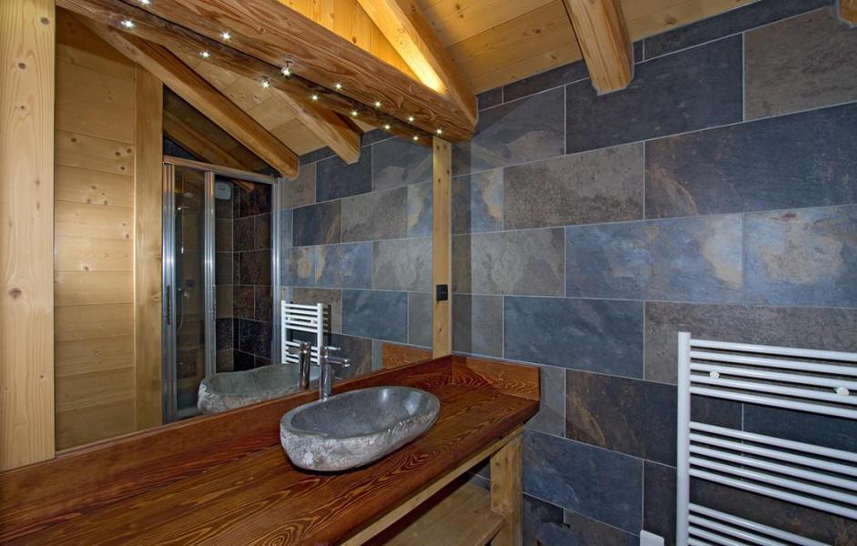 Location au ski Chalet Prestige Lodge - Les 2 Alpes - Salle d'eau