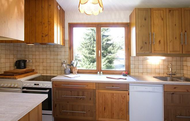 Skiverleih Chalet Sabot de Vénus - Les 2 Alpes - Küche