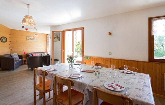 Location au ski Chalet Sabot de Vénus - Les 2 Alpes - Salle à manger