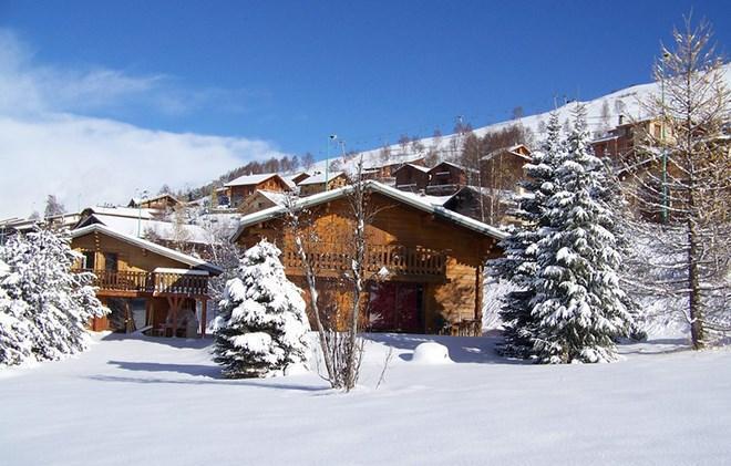 Location au ski Chalet Soleil d'Hiver - Les 2 Alpes - Extérieur hiver