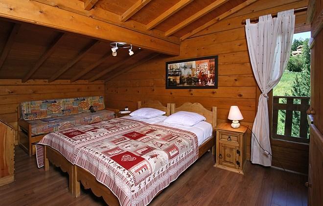 Location au ski Chalet Soleil d'Hiver - Les 2 Alpes - Lits twin