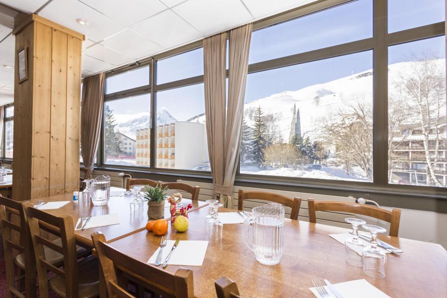Soggiorno sugli sci Hôtel Club MMV le Panorama - Les 2 Alpes - Sala da pranzo