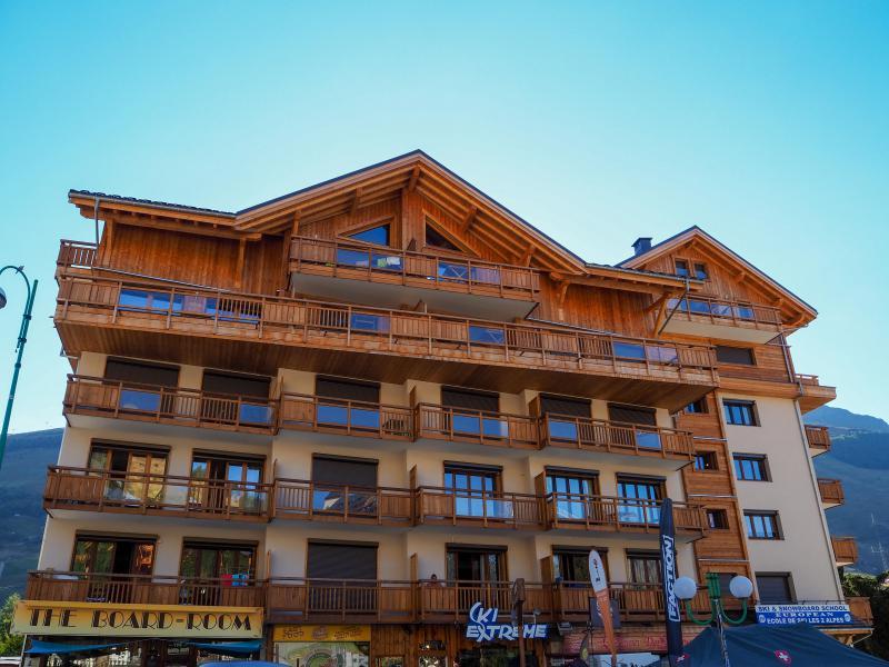 Location au ski La Résidence - Les 2 Alpes - Extérieur hiver