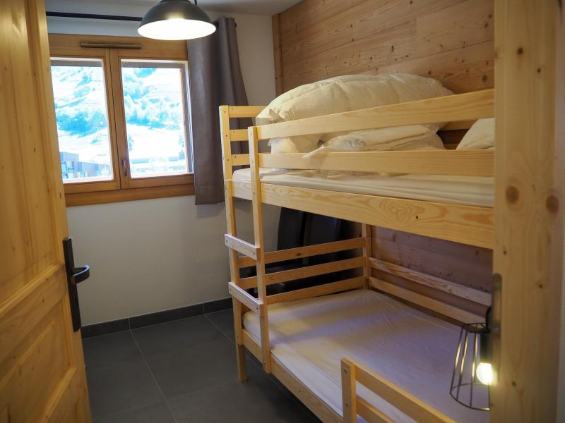 Location au ski Appartement 3 pièces cabine 6 personnes - La Résidence - Les 2 Alpes - Lits superposés